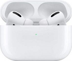 Casti Bluetooth Apple AirPods Pro True Wireless Case Alb