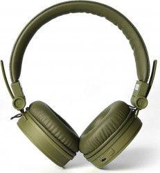 Casti bluetooth Fresh N Rebel Caps 156302 On-Ear microfon Verde