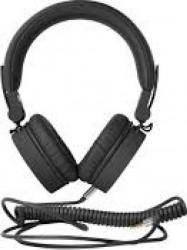 Casti cu fir Fresh n Rebel Caps On-ear Concrete Black