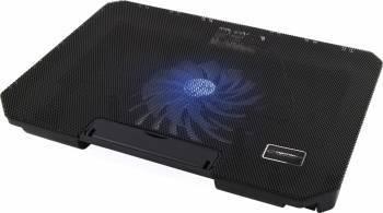 Cooler cu stand pentru laptop 15.6 - 17 inch iluminat cu LED Esperanza Samum