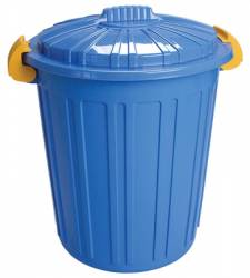 Cos de gunoi N-5 73lt ICIKALA 45x52cm albastru