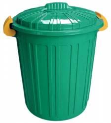 Cos de gunoi N-5 73lt ICIKALA 45x52cm verde