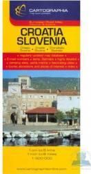 Croatia Slovenia - Harta Harti