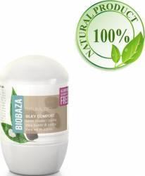 Deodorant Natural Biobaza pentru Femei SILKY COMFORT shea si jojoba 50ml
