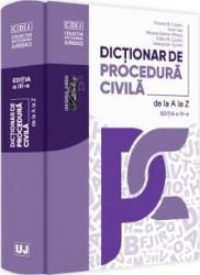 Dictionar de procedura civila de la A la Z Ed.3 - Mircea N. Costin Ioan Les
