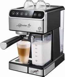 Espressor semi-automat Samus Lattissimo 1.8 L 1350 W 20 bar Negru Inox