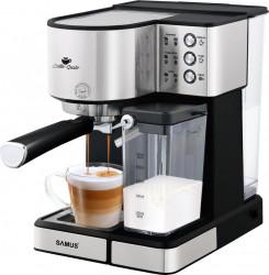 Espressor Semi-Automat Samus Latte-Gusto 1.8 L 1350 W 20 bar Rezervor lapte 500 ml Inox
