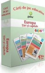 Europa Tari si capitale - Carti de joc educative