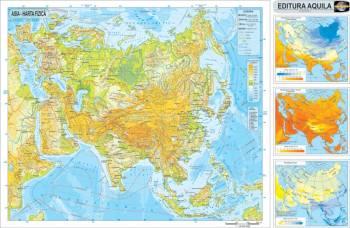 Harta Asia 120x160 cm Carti