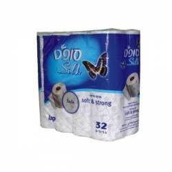 Hartie igienica Sano Soft Silk White 2 straturi 32 role