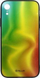 Husa de protectie Tellur Glass print pentru Apple iPhone XR Silk