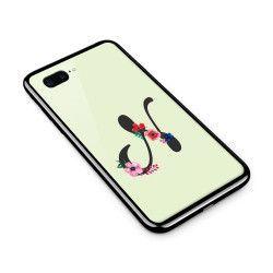 Husa din sticla securizata pentru Apple iPhone 7 Plus Litera N