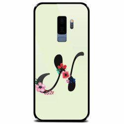 Husa din sticla securizata pentru Samsung Galaxy S9 Plus Litera N