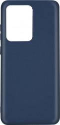 Husa Lemontti Silicon Silky Samsung Galaxy S20 Ultra Albastru Inchis