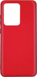 Husa Lemontti Silicon Silky Samsung Galaxy S20 Ultra Rosu