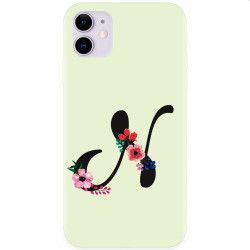 Husa silicon pentru Apple iPhone 11 Litera N