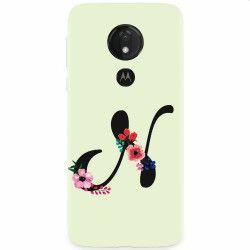 Husa silicon pentru Motorola Moto G7 Litera N