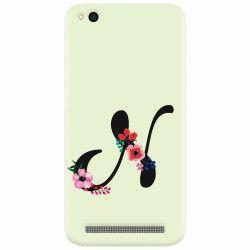 Husa silicon pentru Xiaomi Redmi 5A Litera N