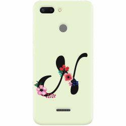 Husa silicon pentru Xiaomi Redmi 6 Litera N