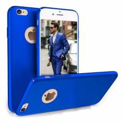 Husa telefon Iphone 7 ofera protectie Ultrasubtire - Silk Blue Matte