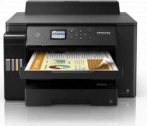 Imprimanta inkjet color Epson L11160 CISS Retea Wireless A3+