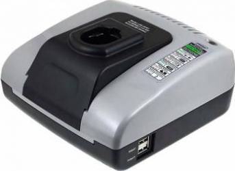 Incarcator acumulator cu USB pentru Dewalt DC-410-N