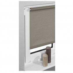 Jaluzea tip roleta pentru fereastra Vidella Blackout Fiber SB3 Maro 64 cm