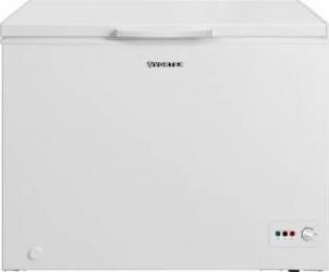 Lada Frigorifica VO1008 A+ Control mecanic al temperaturii Alb Lazi si congelatoare
