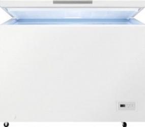 Lada frigorifica Zanussi ZCAN31FW1 308 L Clasa F Alb Lazi si congelatoare