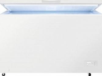 Lada frigorifica Zanussi ZCAN38FW1 371 L Clasa F Alb Lazi si congelatoare