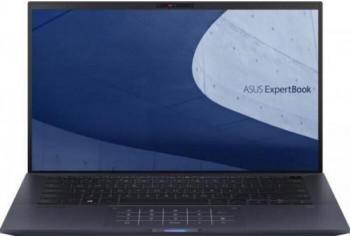 Ultrabook ASUS ExpertBook 14 B9400CEA Intel Core (11th Gen) i7-1165G7 2TB SSD 16GB Iris Xe FullHD Win10 Pro Tast. ilum. FPR Black