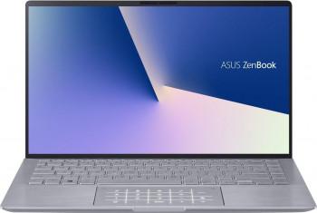 Ultrabook ASUS ZenBook 14 UM433IQ AMD Ryzen 5 4500U 1TB SSD 8GB NVIDIA GeForce MX350 2GB FullHD Tastatura iluminata Light Grey