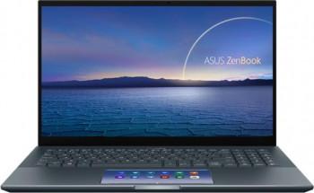 Ultrabook ASUS ZenBook Pro 15 UX535LI Intel Core (10th Gen) i7-10870H 1TB SSD 16GB GTX1650Ti 4GB 4K Touch Win10 Pro Tast. ilum. Pine G