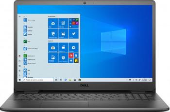 Laptop Dell Inspiron 3501 Intel Core (10th Gen) i3-1005G1 128GB SSD 4GB HD Win10 Tast. ilum. Black