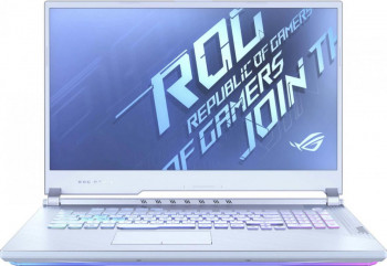 Laptop Gaming ASUS ROG Strix G17 G712LU Intel Core (10th Gen) i7-10750H 512GB SSD 16GB GeForce GTX 1660Ti 6GB FullHD 120Hz RGB Glacier Blue