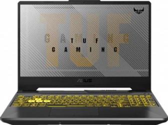 Laptop Gaming ASUS TUF A15 FA506IU AMD Ryzen 7 4800H 512GB SSD 8GB NVIDIA GeForce GTX 1660Ti 6GB FullHD 144Hz Tast. ilum. Fortress Gray
