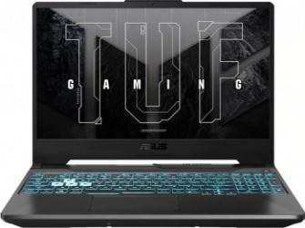 Laptop Gaming ASUS TUF A15 FA506QM AMD Ryzen 7 5800H 512GB SSD 16GB GeForce RTX 3060 6GB FullHD 144Hz Endless Tast. ilum. Graphite Black Laptop laptopuri