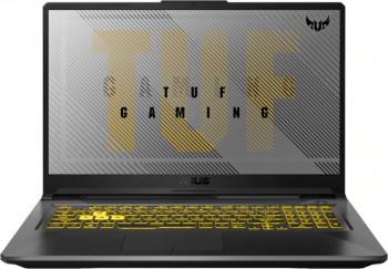 Laptop Gaming ASUS TUF A17 AMD Ryzen 7 4800H 1TB SSD 16GB NVIDIA GeForce GTX 1660Ti 6GB FullHD Endless RGB Fortress Gray