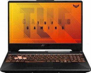 Laptop Gaming ASUS TUF F15 FX506LU Intel Core (10th Gen) i7-10870H 1TB SSD 16GB GeForce GTX 1660Ti 6GB FHD 144Hz RGB Bonfire Black