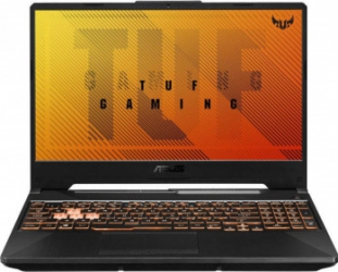 Laptop Gaming ASUS TUF Gaming F15 FX506LH Intel Core (10th Gen) i5-10300H 512GB SSD 8GB GTX 1650 4GB FullHD Tast. ilum. Bonfire Black