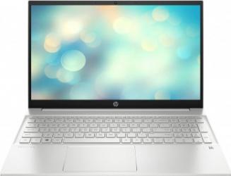 Laptop HP Pavilion 15-eg0072nq Intel Core (11th Gen) i7-1165G7 256GB SSD 8GB Intel Iris Xe FullHD Tast. ilum. Natural Silver