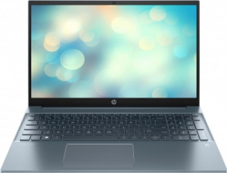 Laptop HP Pavilion 15-eh0019nq AMD Ryzen 7 4700U 512GB SSD 8GB AMD Radeon FullHD Tast. ilum. Fog Blue Laptop laptopuri