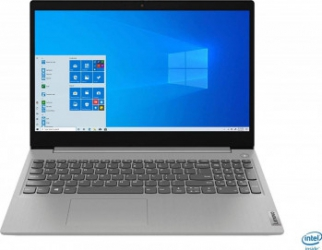 Laptop Lenovo IdeaPad 3 15IIL05 Intel Core (10th Gen) i3-1005G1 256GB SSD 8GB FullHD Win10 Platinum Grey Laptop laptopuri