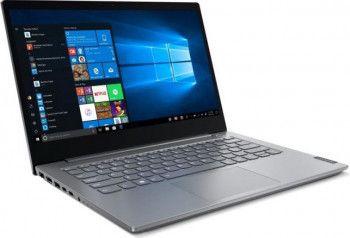 Laptop Lenovo ThinkBook 14-IIL Intel Core (10th Gen) i5-1035G1 256GB SSD 8GB FullHD Win10 Pro FPR Mineral Grey
