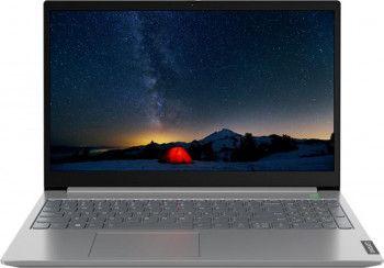 Laptop Lenovo ThinkBook 15-IIL Intel Core (10th Gen) i7-1065G7 512GB SSD 16GB FullHD 3 ani garantie Tast. ilum. Mineral Grey