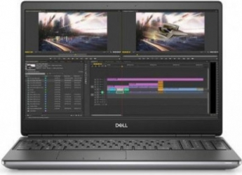 Laptop Dell Mobile Precision 7550 Intel Core (10th Gen) i7-10850H 256GB SSD 16GB NVIDIA Quadro T2000 4GB FullHD Linux Tast. ilum. FPR