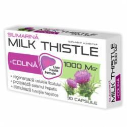 Milk Thistle + Colina Zdrovit 30cps