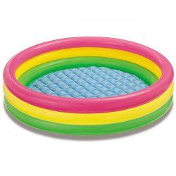 Mini-piscina gonflabila colorata copii 147x33 cm Piscine