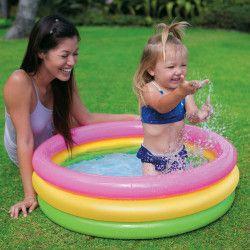 Mini-piscina gonflabila colorata copii 86x25 cm Piscine
