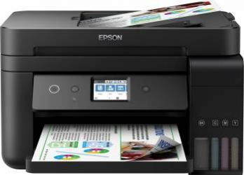 Multifunctionala inkjet color Epson EcoTank L6190 CISS Retea Wireless Duplex ADF Fax A4